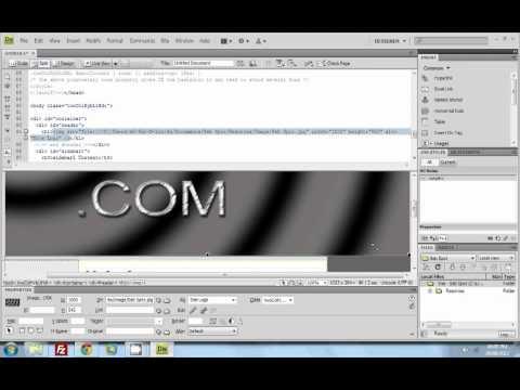Amature Web Designer at Work