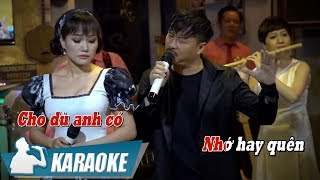 [KARAOKE] Đêm Gọi Người Yêu - Quang Lập & Lâm Minh Thảo