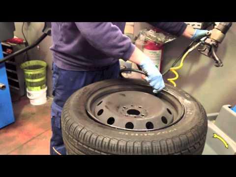 La cura dei pneumatici