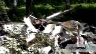 В Новосибирске разбился легкомоторный самолет