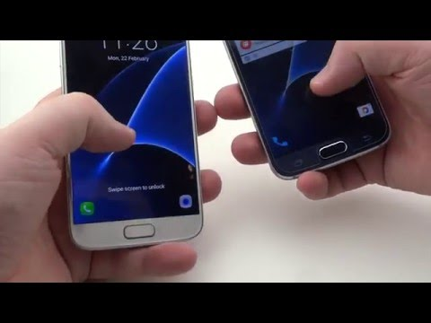Samsung Galaxy S7 vs Samsung Galaxy S6, Benchmark e confronto