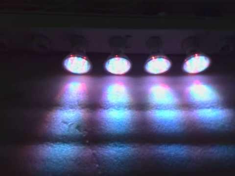 SPOT GU10 RGB 18LED MULTICOLOR