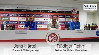 PK nach FCM-Spiel in Wiesbaden
