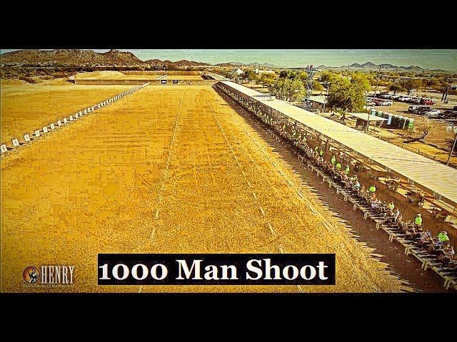 Sootch00 Covers the 1,000 Man Shoot