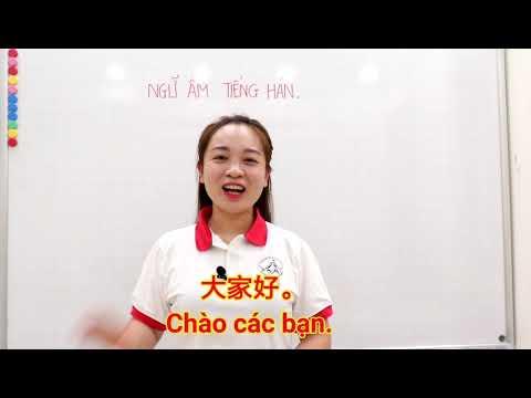 Học Phát Âm Tiếng Trung - Phát âm chuẩn