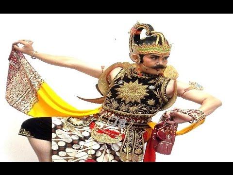 Video GATOTKACA - Javanese Dance Costume & Make Up - Kostum Tari Klasik Jawa [HD]