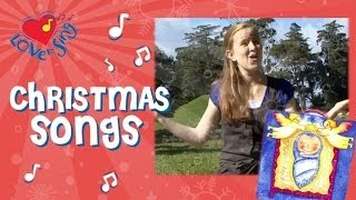 Away in a Manger Christmas Carol | Kids Christmas Song with Actions | Children Love to Sing