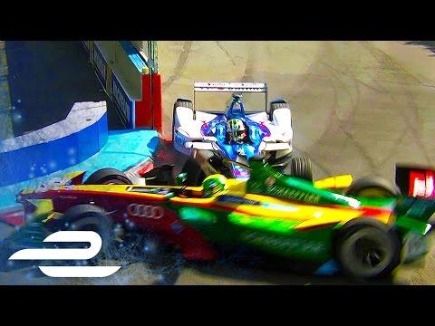Who's To Blame? Di Grassi And Da Costa Crash In Paris - Formula E