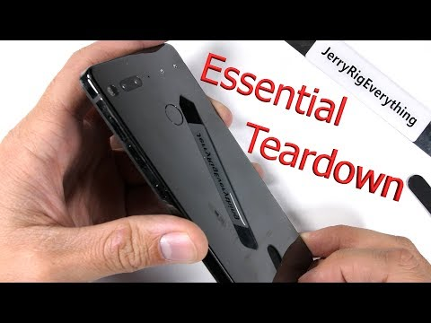 Essential Phone, Teardown completo da JerryRigEverything