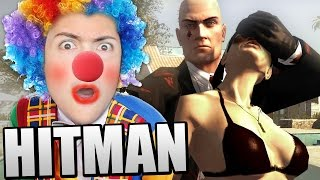 DISGUISING MYSELF AS A CLOWN! AND KILLING WOMEN (Hitman Blood Money)