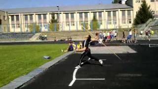Javelin throw training