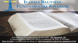 Iglesia Bautista Fundamental Emanuel Ganancia de Almas  2017