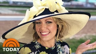 See How Dylan Dreyer's Fancy Kentucky Derby Hat Was Made | TODAY