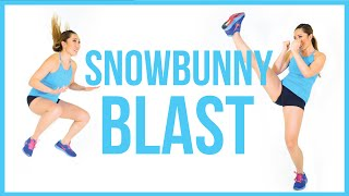 SNOWBUNNY BLAST - at home cardio to burn fat!