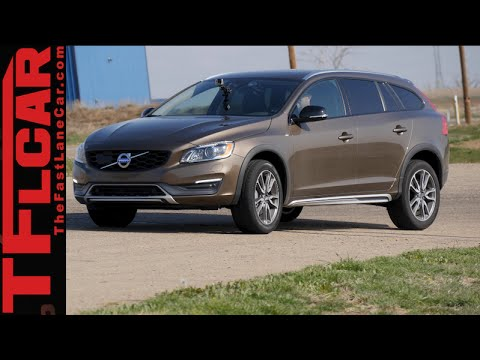 2015 Volvo V60 Cross Country 0-60 MPH & 60-0 MPH Track Review