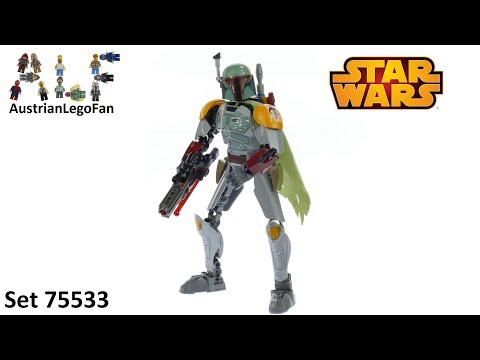 Vidéo LEGO Star Wars 75533 : Boba Fett (Buildable Figures)