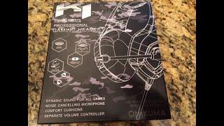 Onikuma K1-B Gaming Headset Review