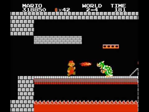 Neel303 S Mr Mario Bros In The Castle Of Scotland Dark