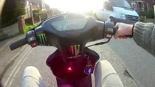 Ride Out on the 50cc moped