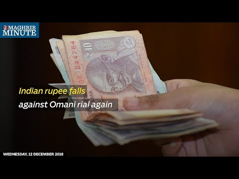 Indian rupee falls against Omani rial again
