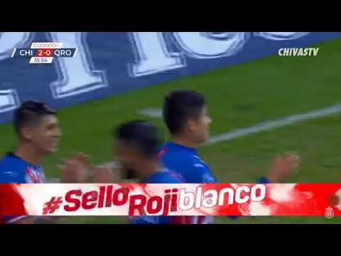 Goool chofis lopez (chivas 2 vs Querétaro 0)