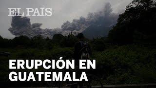 Guatemala: La erupción del volcán de Fuego