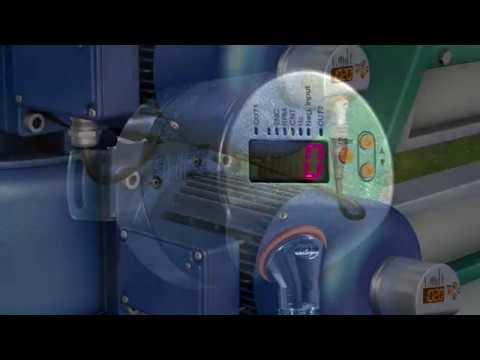 Encóders incrementales inteligentes con pantalla e IO-Link