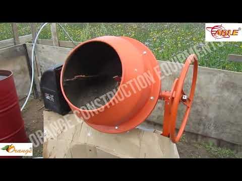 Tilting Type Able Electric Half Bag Concrete Mixer