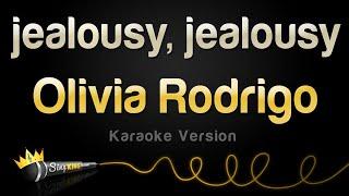 Olivia Rodrigo - jealousy, jealousy (Karaoke Version)