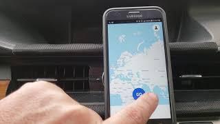 Uber driver app: ACCEPT DISPATCH!