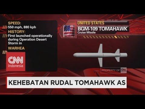 Kehebatan Rudal Tomahawk AS yang Diluncurkan ke Suriah
