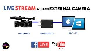 Live Stream on Facebook or Youtube, PC or MAC - OBS Walkthrough