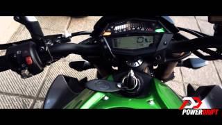 Kawasaki Z1000 Exhaust note: PowerDrift