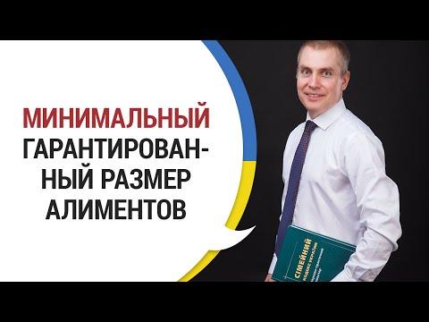МИНИМАЛЬНЫЙ ГАРАНТИРОВАННЫЙ РАЗМЕР АЛИМЕНТОВ