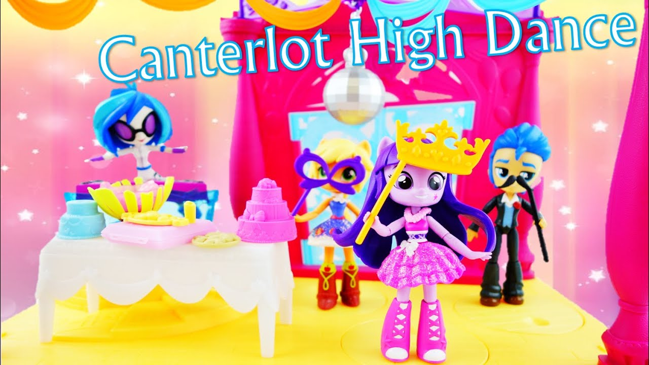 My Little Pony Equestria Girls Minis Canterlot High Dance Playset Twilight Sparkle Doll Unboxing
