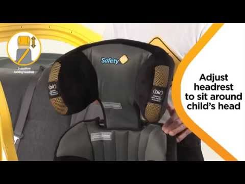 Safety 1st Custodian Series II Convertible Booster Seat Installation