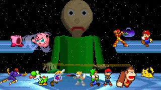Baldi Basics VS Super Smash Bros (Animation)