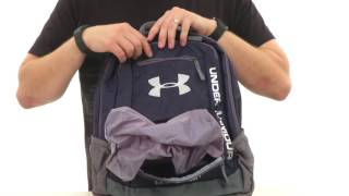 Under Armour Hustle Backpack video