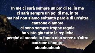 Marracash - Niente Canzoni D'Amore ft. Federica Abbate - Lyrics