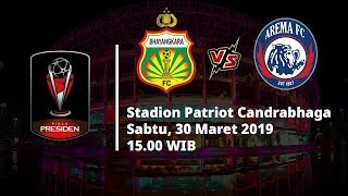 Live Streaming Pertandingan Piala Presiden Bhayangkara FC Vs Arema FC, Sabtu (30/3) Pukul 15.00 WIB