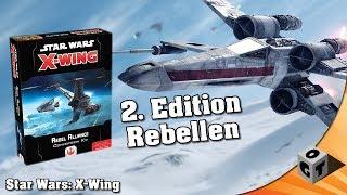[DE] Star Wars: X-Wing - Rebellen Conversion Kit (preview)