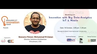 Workshop on Innovation With Big Data – Analytics, IoT & Mobile