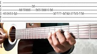 Mere Dholna Lyrics Tabs lesson of Guitar - YouTube