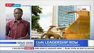 UoN LEADERSHIP ROW: Labour Court restrains Prof. Kiama
