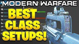 MODERN WARFARE BEST CLASS SETUPS! COD MODERN WARFARE CLASS SETUPS , BEST PERKS , MW BEST GUNS & MORE