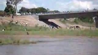 Ponte Que Liga Chókwè A Guijá   Moçambique