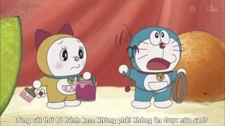 Doraemon Ep 425 Thoát Ra! Bánh Kem Giáng Sinh Khổng Lồ (New)