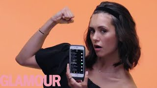 Nina Dobrev Shows Us the Last Thing on Her Phone | Glamour