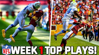 RECREATING THE TOP 10 PLAYS FROM NFL WEEK 1! Madden 22 Challenge