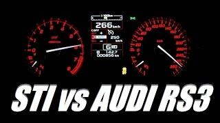 2016 Subaru WRX STI 300 HP 0-100 km/h & 0-100 mph Acceleration ...